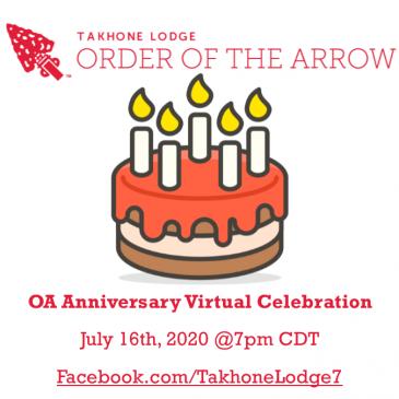 OA Anniversary Virtual Celebration